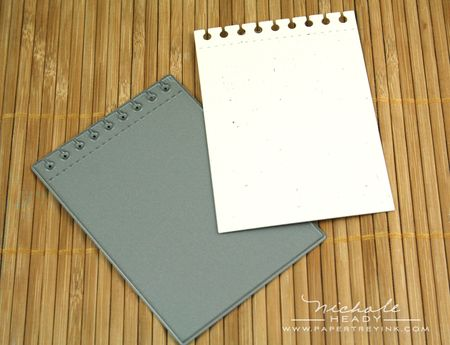 Spiral notebook die