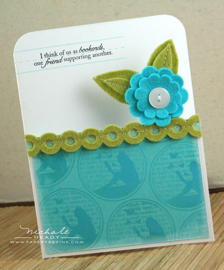 Bookends Card