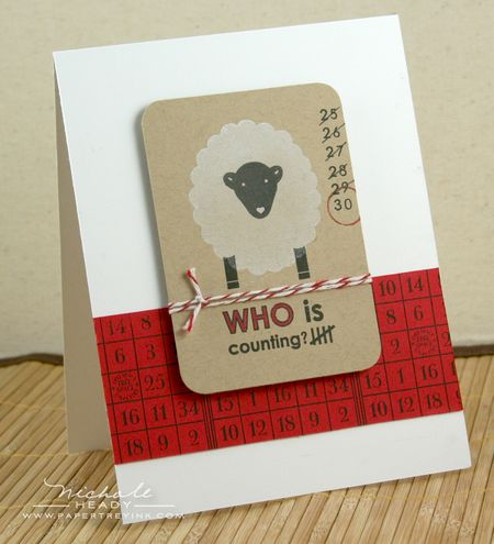 Counting Sheep Card
