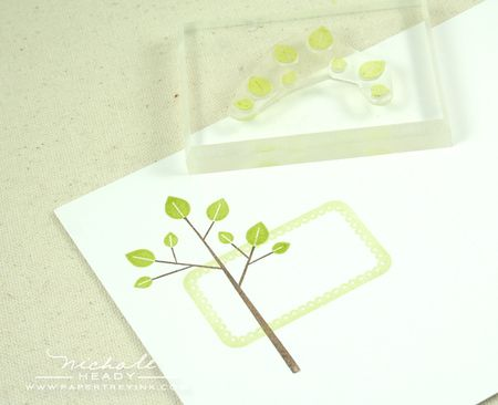 Stamping tree topper