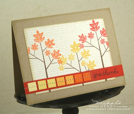 Autumn Hues Card