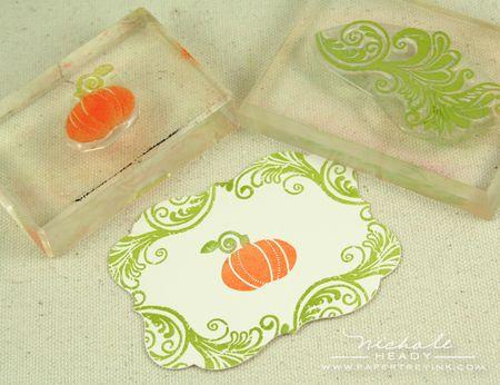 Stamping pumpkin