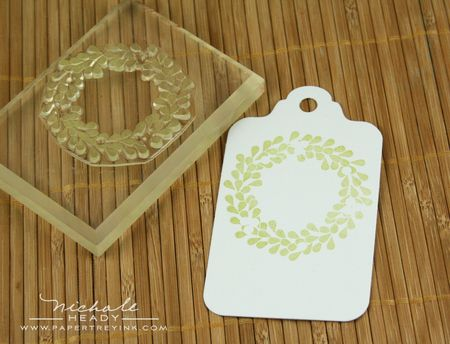 Stamping wreath
