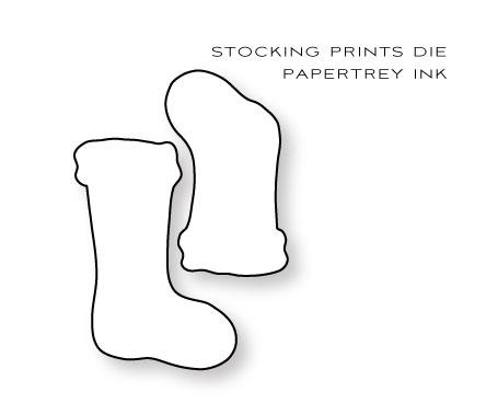 Stocking-Prints-die