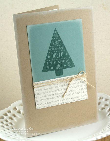 Peaceful Tree Card