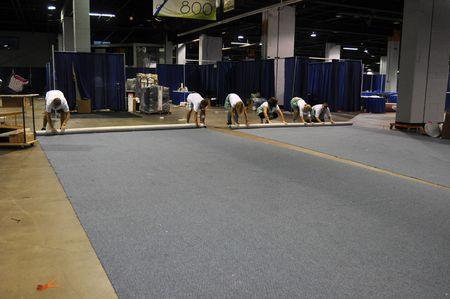 Tear down carpet race 1