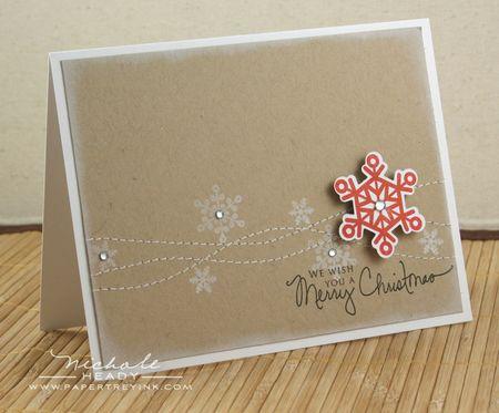 Snowflake Showers Card