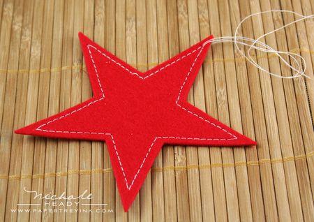 Stitched star