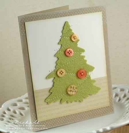 Felt Tree Card