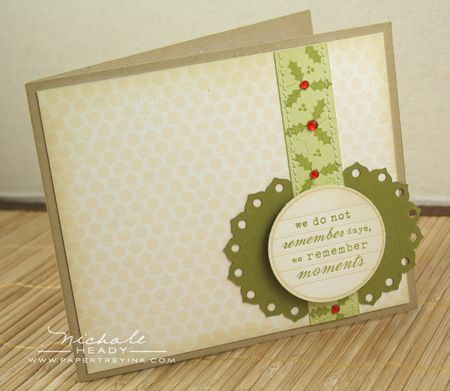 Holiday Moments card