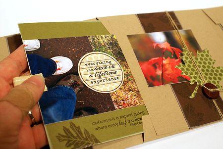 Interior autumn mini book