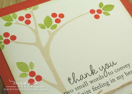 Tree & berries closeup