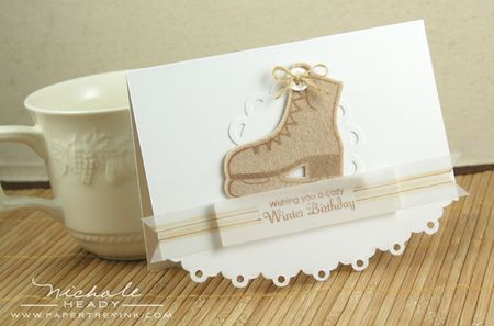 Cozy Winter Birthday Card