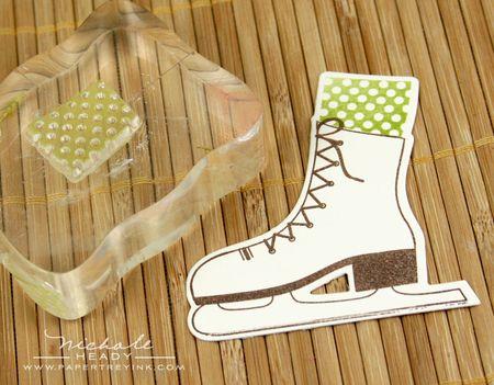 Stamping sock