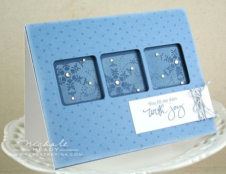 Joyful Snowflake Card
