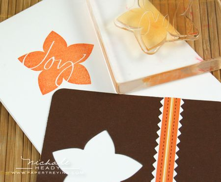 Stamping flower