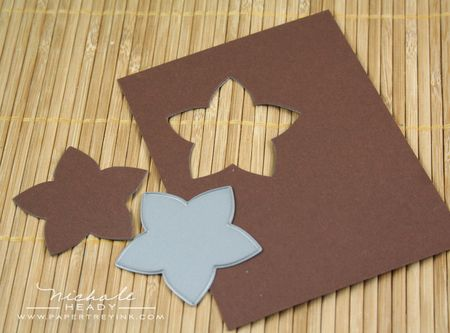 Die cutting flower