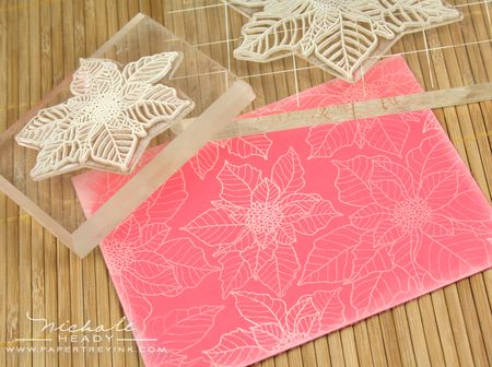 Stamping flowers
