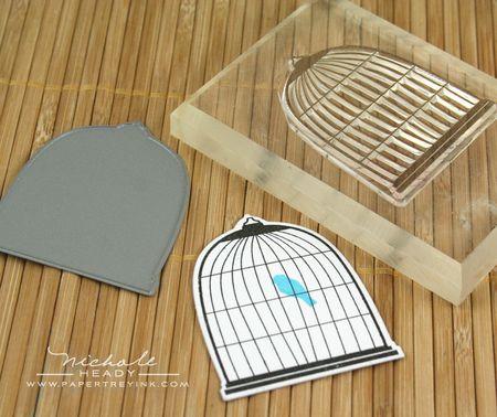 Birdcage stamp & die