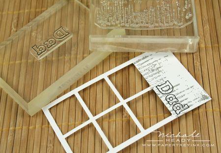 Stamping frame