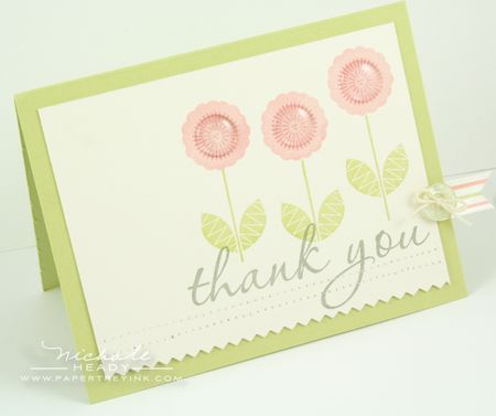 Flower Trio Thank You Card