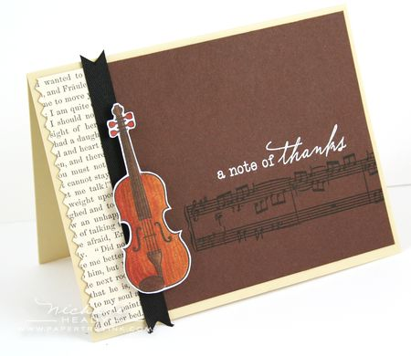 Note of Thanks Card