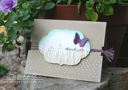 Lavender Fields Card