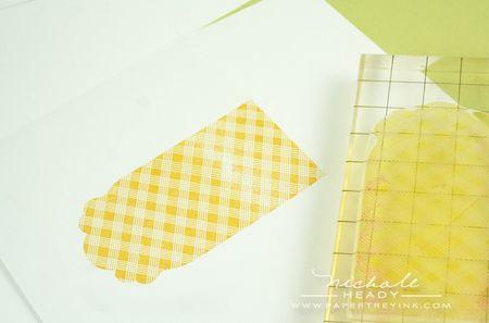 Stamping envelope front