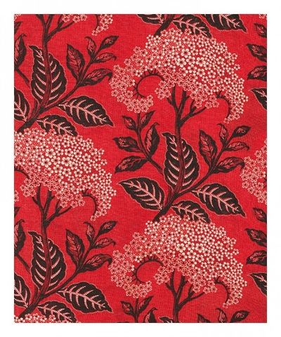 Flower red pattern
