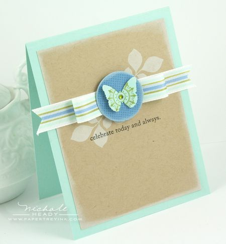 Copic Ribbon Card