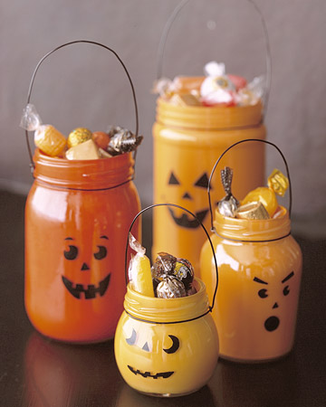 Jar jackolanterns