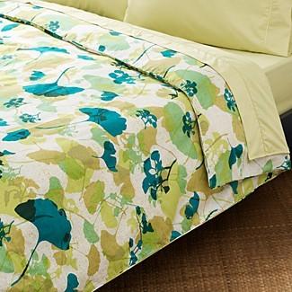 Gingko bedspread