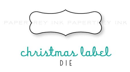 Christmas-Label-die