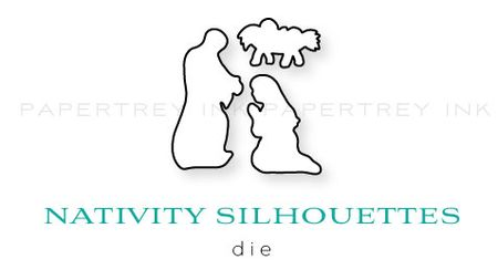 Nativity-Silhouettes-die
