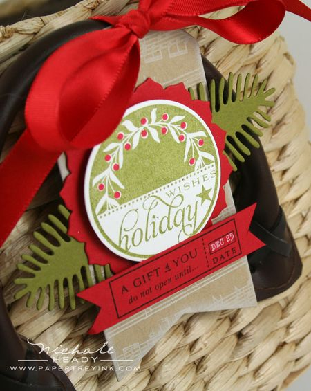 Holiday Wishes Tag