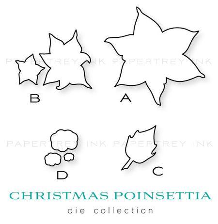 Poinsettia-dies