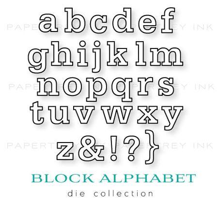 Block-Alphabet-dies