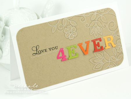 Love You 4Ever Card