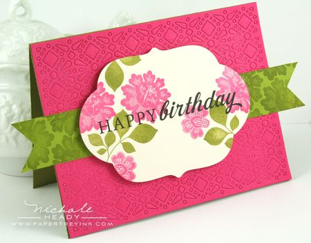 Leaves & Lace Birthday