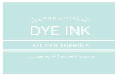 Dye ink logo