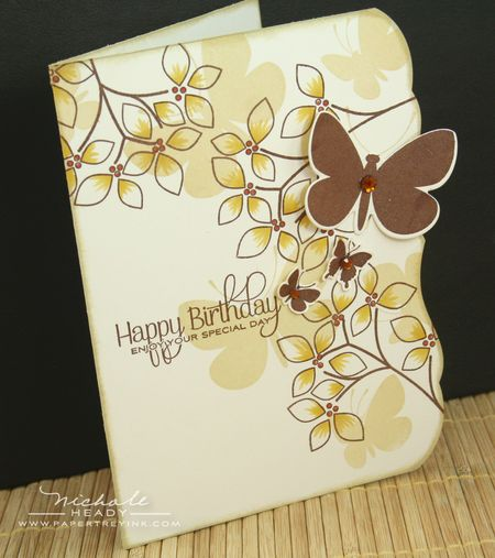 Birthday Butterflies Card