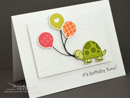 Birthday Time Card