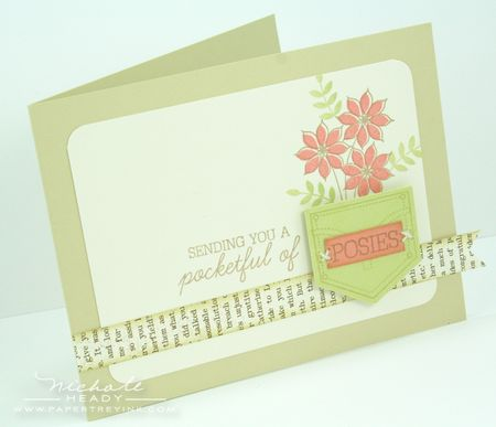 Pocketful of Posies Card