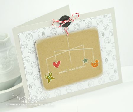 Sweet Baby Dreams Card