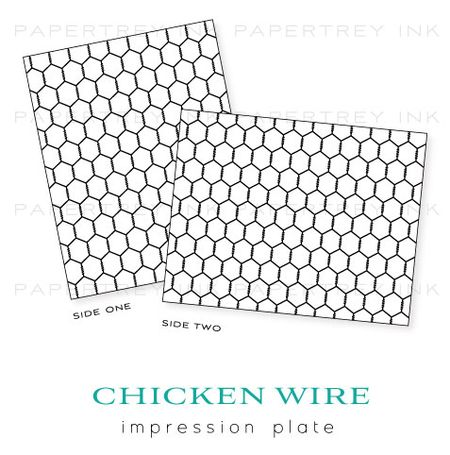 Chicken-Wire-impression-plate