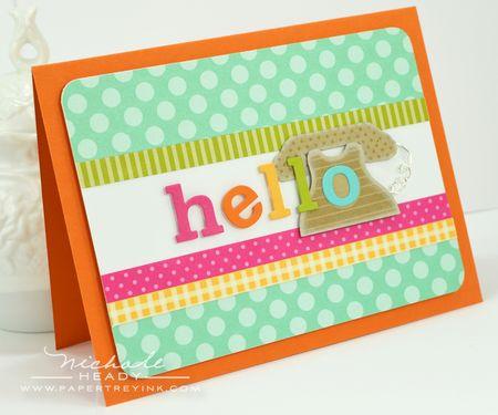 Hello Alphabet Card