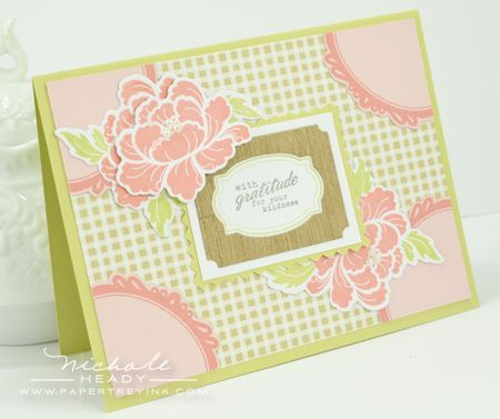 Pretty Peonies Card