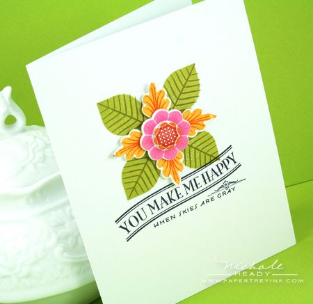 You MAke Me Happy Card