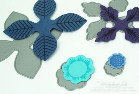 Die cut pieces