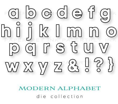 Modern-Alphabet-dies